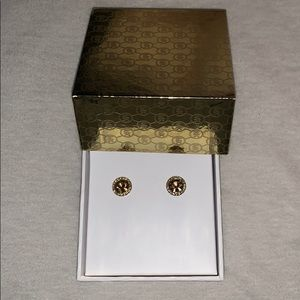 Michael Kors Gold Studd Earrings